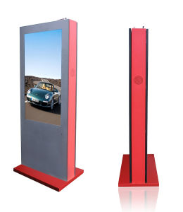 IP65 Floor Stand 42/47/55/65-Inch Digital Signage FHD Outdoor LCD Displayer pictures & photos