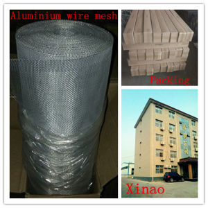 High Quality Aluminum Insect Window Screen Aluminum Alloy Wire Netting 18X16 Mesh 0.25mm pictures & photos