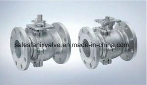 JIS Flanged Ball Valve (FLOATING BALL) pictures & photos
