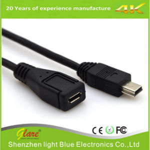 Short Length USB Mini Female to USB Cable pictures & photos