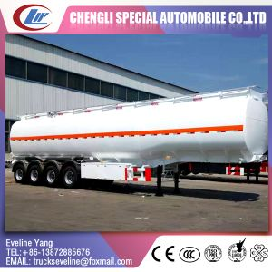 6 Sub-Warehouse 4 Axles Fuel Tank Semi Trailer for Sale pictures & photos