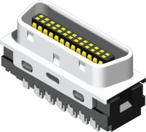 1.27mm Half Pitch SCSI Connector pictures & photos