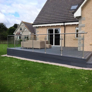 Deck&Porch Railings Systems with Tempered Glass pictures & photos