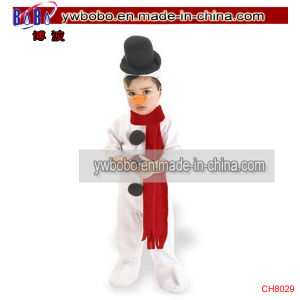 Christmas Product Christmas Snowman Romper Toddler Party Costume (CH8029) pictures & photos