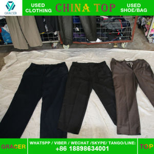 Secondhand Clothes, Shoes, Wholesale Used Tropical Pants in Turkey pictures & photos