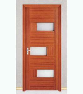High Quality Interior PVC Wooden Door (WX-PW-149) pictures & photos