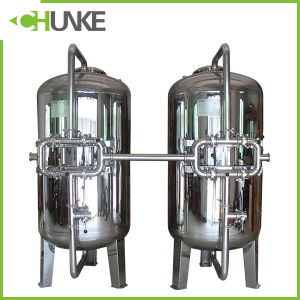 Chunke Stainless Steel Mechanical Filter Housing with Quartz Sand pictures & photos
