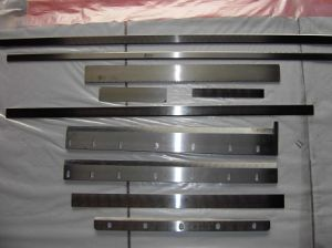 Sharp Cutting Film Knife Face Blades pictures & photos