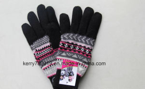 Popular Quality Man Knitted Gloves Dh-Lh7676 pictures & photos