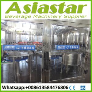 Automatic 500ml 1500ml Bottle Pure Water Washing Filling Capping Making Machine Line with Reverse Osmosis Drinking Water Filter System pictures & photos