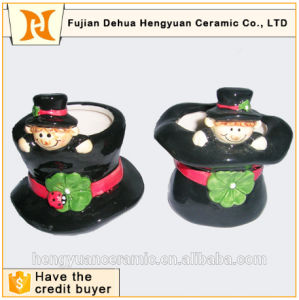 Lovely Chimney People Hat Shape Mini Brush Pot pictures & photos