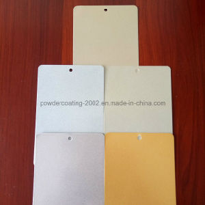 Eco-Friendly Silver Gold Spray Powder Coating pictures & photos