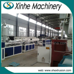 PVC Single Wall Corrugated Pipe Production Machine/9-32mm Pipe Plastic Extruder pictures & photos