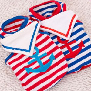 Pet Navy Seaman Dog Vest with Striped Scarf Wholesale pictures & photos