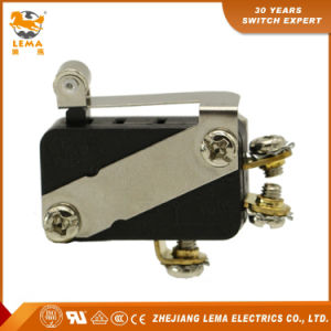 Lema Kw7-33L1 Screw Terminal Roller Lever Snap Action Micro Switch pictures & photos