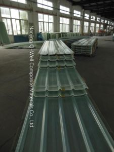 FRP Panel Corrugated Fiberglass/Fiber Glass Roofing Panels C17004 pictures & photos