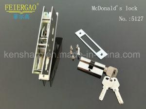 5127 High Class Aluminum Door Lock, Sliding Door Lock/Cylinder Lock pictures & photos