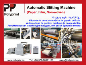Good Quality Paper/ Film/ Non-Woven Slitting Machine Slitter pictures & photos