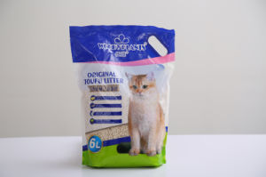 Tofu Cat Litter--Clumping and Easy Clean (HA-MS-DF01) pictures & photos