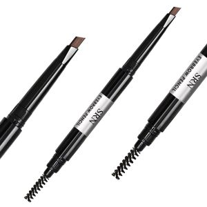 Eyebrow Pencil with Brow Brush, Automatic Rotating & Waterproof Eyebrow Color Pen Pencil pictures & photos