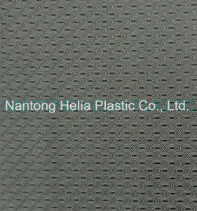 High-Quality PVC Artificial Shoes Leather (HL16-08) pictures & photos