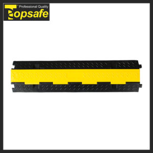 High Quality 2channels Rubber Cable Protector Wholesale pictures & photos