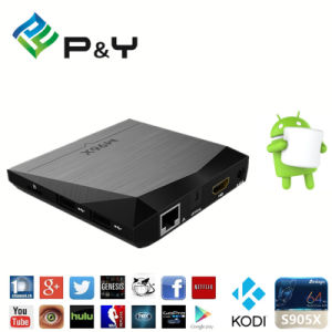2017 P&Y Wholesale New Andriod 6.0 TV Box M96X 2g RAM 8g ROM Kodi Amlogic S905X Quad Core TV Box pictures & photos