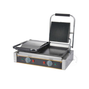 Doulbe Head Electric Contact Grill