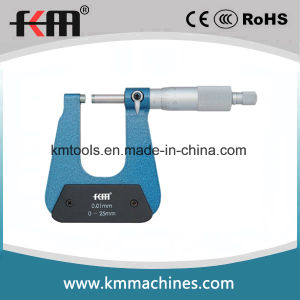 0-25mm Deep Throat Micrometer with 0.01mm Graduation pictures & photos