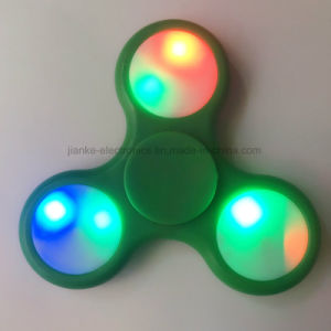 High Quality ABS 608 Fidget LED Hand Spinner (6000B) pictures & photos
