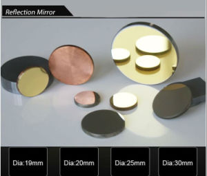 with Gold Coated D 25mm Silicon Reflective CO2 Laser Mirror pictures & photos