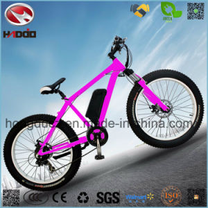 Electric Fat Tire Beach Ebike A380 Plus Bicycle with Suspension pictures & photos