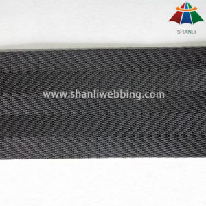 2 Inch Black Nylon Seat Belt Webbing pictures & photos