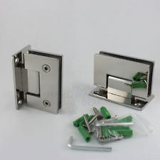 Wall to Glass Stainless Steel Glass Hardware Shower Hinge (CR-Y02) pictures & photos