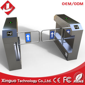 Dual Swing Gate Opener, RFID Access Control Swing Turnstile Automatic Swing Gate Opener pictures & photos