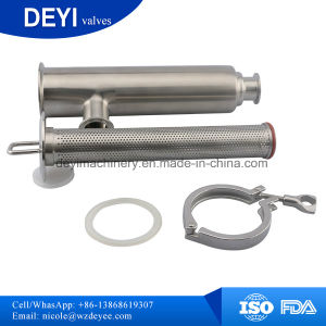 SS304 Stainless Steel Inline Milk Strainer pictures & photos