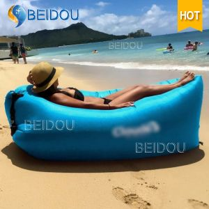 China Camping Bed Inflatable Chaise Lounge Beach Air Chair Outdoor