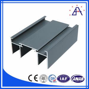 Customized Wood Grain Aluminium Extrusion Profiles for Windows and Doors pictures & photos