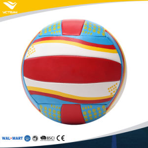 Colorful Design Your Own Good Stitched Volleyball pictures & photos