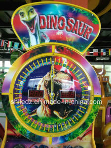 Coin Operated Tickets Game Machine, Electric Token Dinosaur Roulette Game Machine Coin Operated Tickets Game Machine, Electric Token Dinosaur Roulette Game M pictures & photos
