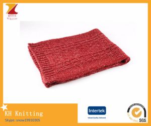 Lady Fashion Winter Acrylic Knitted Warm Scarf pictures & photos