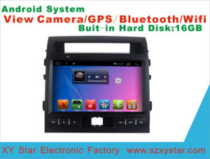 Android System Car DVD Player for Land Cruiser 10.1 Inch Touch Screen with GPS/WiFi/Bluetooth pictures & photos