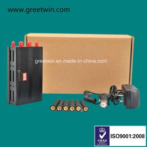 Lte 700MHz Portable Signal Jammer GSM Blocker Jammer 6 Whip Antennas (GW-JN6L) pictures & photos