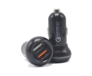 Quick Dual USB Car Charger Mobile Phone QC3.0 Car Charger pictures & photos