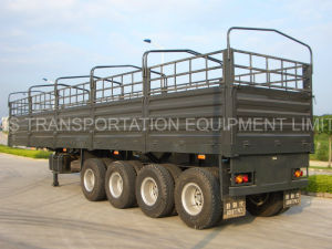 40 Feet 4 Axle Fence Semi Trailer pictures & photos