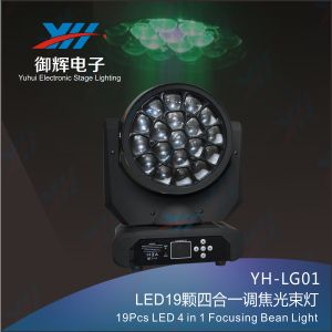 19PCS LED Focusing Beam Moving Head Light pictures & photos