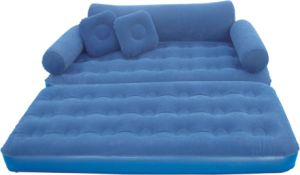 Inflatable Bed Sofa /Inflatable Airbed /Flocked Air Bed pictures & photos