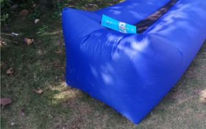 High Quality Inflatable Outdoor Polyester Air Sleeping Lazy Sofa Bed (N326) pictures & photos