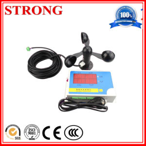 Wireless Wind Anemometer for Tower Crane Safety Many Voltage pictures & photos