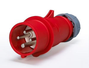 Industrial Straight Plug 16A/32A 4pole 380V IP67 New pictures & photos